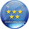 Rated 5/5 by GearDownload.com
